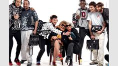 awesome Dolce & Gabbana redefines the idea of family for its fall-winter 2015 ad campaign  [Fashion]