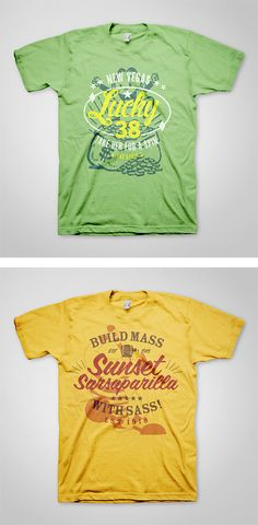 Fallout T-Shirts by Ello Mate Studio | Inspiration Grid | Design Inspiration