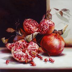 Art Prints | Online Gallery | Painting Pomegranite Print