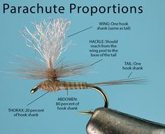 Proper proportions for a parachute dry fly - Fly Fisherman Magazine