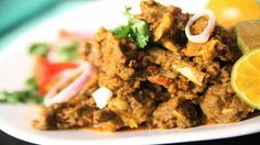 Sukka Mutton (Dry Mutton) By Archana