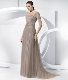 Pronovias presents the Latina 2012 matron of honor dress. | Pronovias