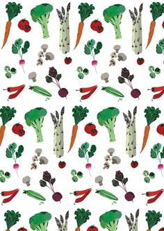 Lindsey Spinks #illustration #food #vegetables theartworksinc.com