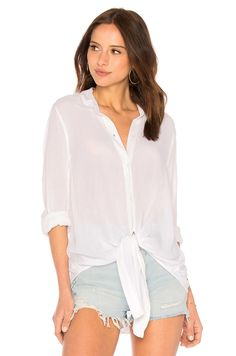 eacd9dc7b6e1 Shop for L Academie Lene Button Up in Ivory Gold Stripe at REVOLVE. Free  day shipping and returns