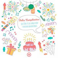imagen con frase de cumpleaños cristiana Happy Bday Wishes, Free Happy Birthday Cards, Happy Birthdays, Birthday Messages, Birthday Quotes, Birthday Greetings, Colourful Wallpaper Iphone, Hippie Birthday, Birthday Wallpaper