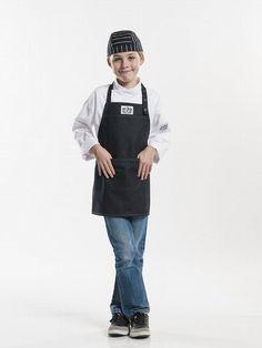 Chaud Devant Schort Kids Black Denim (CHA677)