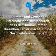 Kurt Tucholsky Zitate