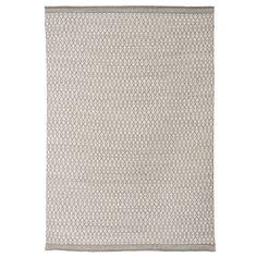 Alfombra KILIM DESERT fabricada en lana con textura plana.