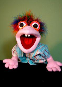 Manard Hand Puppet or Ventriloquist Puppet Custom order. $38.00, via Etsy.