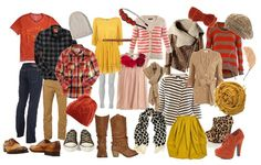 What to wear for family photos -
