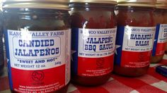 Blanco Valley Farms (Candied Jalapenos, BBQ Sauces, Salsas and more)