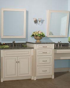 W c accessible bathroom by bauscher construction of - Preston hardware bathroom vanities ...