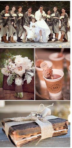 Par ce froid, des mariées ont tout de même décidé de faire un magnifique mariage! Alors voici pour vous de superbes photos de mariages sous la neige!