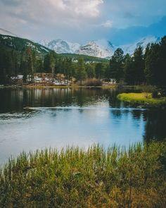Sprague Lake, Rocky Mountain National Park, Colorado by ryanlsmith