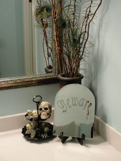 cute #halloween bathroom