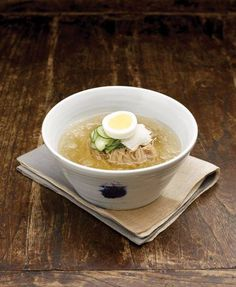 Naengmyeon- cold korean noodles