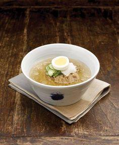 Naengmyeon- cold korean noodles
