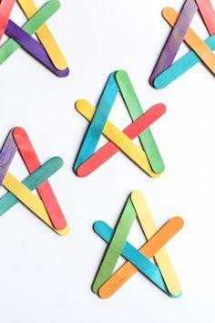 Exploding Boomerang made with Craft Sticks