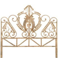 This natural Rattan super king headboard is handmade from natural Rattan using wicker techniques to create a retro peacock design. Wicker, Decor, Wicker Headboard, Beach House Furniture, Rattan Headboard, Peacock Bedding, Rattan, Open Frame Headboard, Bed Head