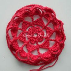 Cupcake By Me Blog ©: DIY - Hæklede julekugler Crochet Necklace, Crochet Patterns, Knitting, Cupcake, Lily, Threading, Christmas, Creative, Tricot