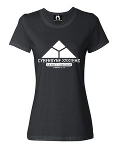 fe028c564bd1 Womens Cyberdyne Systems Skynet Division T-Shirt