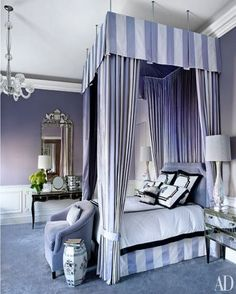 Master Bedroom of apartment in The Plaza, New York City (=)