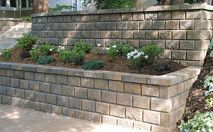 AB Fieldstone Collection- AB Fieldstone is an eco-friendly, mortarless retaining wall system. The anchor units are made from post consumer materials and the authentic natural stone finished blocks are lightweight, install quickly, and lock securely.