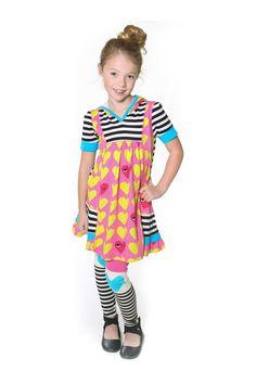 Winking Heart Hooded Dress & Legging Set (Baby, Toddler, Little Girls, & Big Girls)