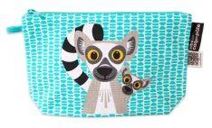 Stifte Etui mit Tiermotiv Lemur