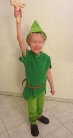 Peter Pan Kostüm selbst nähen: http://knuffeliges.de/allgemein/peter-pan-kostuem