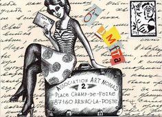 J-4 Jeudi c'est la 6éme JMDFTA, profitez-en pour envoyer vos factures, vos prunes, et payements divers avec des faux timbres à vos administrations préférées...mais vous pouvez aussi prendre votre temps, faire une jolie lettre, créer un faux timbre et...