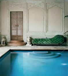 Leaves you wanting more: Getty Glamour with Chinoiserie and Rococo