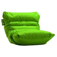 Big Joe Roma Bean Bag Lounger Color: Lime-anade   Bean Bags Filler