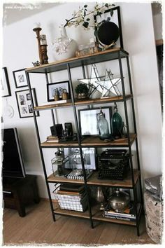 Ladder Bookcase, Shelves, Interior, House, Home Decor, Cabinets, Shelving, Decoration Home, Indoor