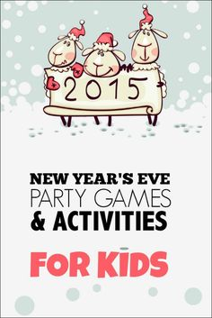 New Year's Eve Party Games and Activities for Kids