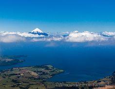Osorno Volcano and Llanquihue lake, Chile