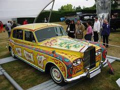 John Lennons Gypsy Caravan & Rolls Royce
