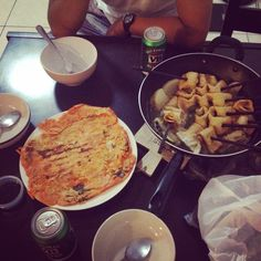 #HomeCooking 오뎅탕과 김치전