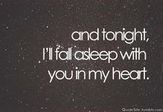 Every night even if it breaks my heart