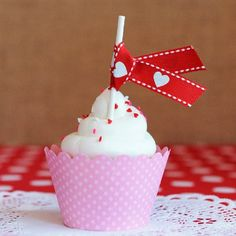 Be My Valentine Cupcake Toppers | Home