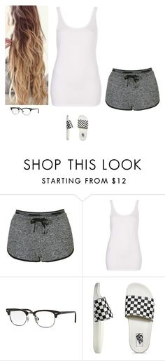 """Untitled #599"" by erin-bittencout on Polyvore featuring moda, Topshop, Ray-Ban e Vans"