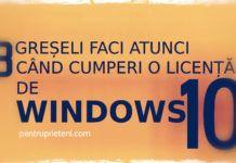 Trei greșeli faci atunci când cumperi o licență de Windows 10 Windows 10, Linux, Microsoft, Linux Kernel