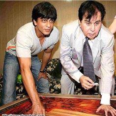 #SRK with Dilip Kumar