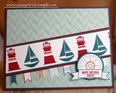 Settin' Sail Photopolymer stamp set from Stampin' Up!