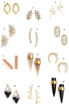 12 Non-Boring Stud Earrings to Wear Every Day