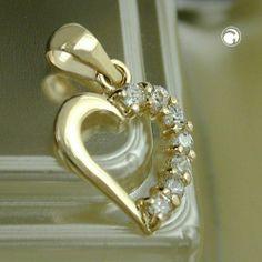 Anhänger, Herz mit Zirkonias, 9Kt GOLD Dreambase,http://www.amazon.de/dp/B00I4VQ1UU/ref=cm_sw_r_pi_dp_zs-Btb1QRDMTA4ZM