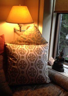 Tanta & Lhasa, Hand Printed Pillows by Pintura Studio