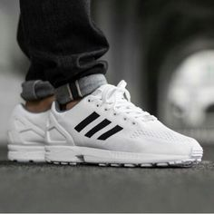Sneakers Adidas, White Sneakers, Adidas Zx Flux, Superstar, Men's Fashion
