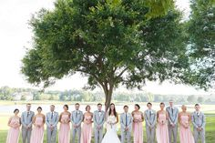 Pink and Gold Virginia Wedding 14