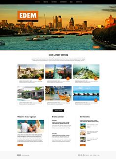Online Travel Agency #Joomla #template. #themes #business #responsive #Joomlathemes